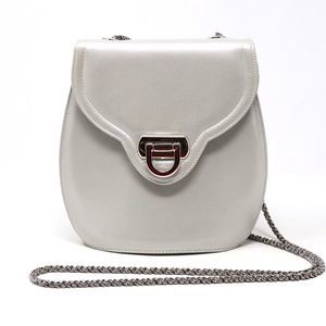 Frenchy of California Gray Crossbody Bag